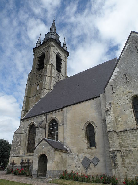 Photo du Monument Historique Eglise Saint-Druon situé à Sebourg