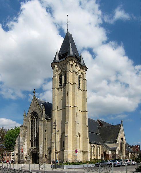 Photo du Monument Historique Eglise Saint-Piat situé à Seclin