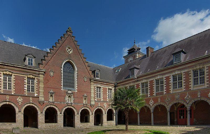Photo du Monument Historique Hôpital Marguerite de Flandres situé à Seclin