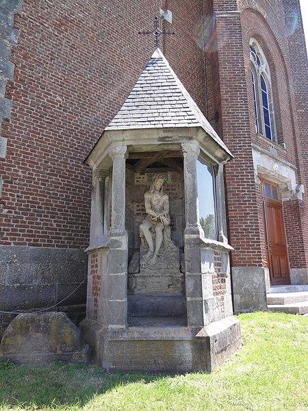 Photo du Monument Historique Construction adossée à l'église situé à Sémeries