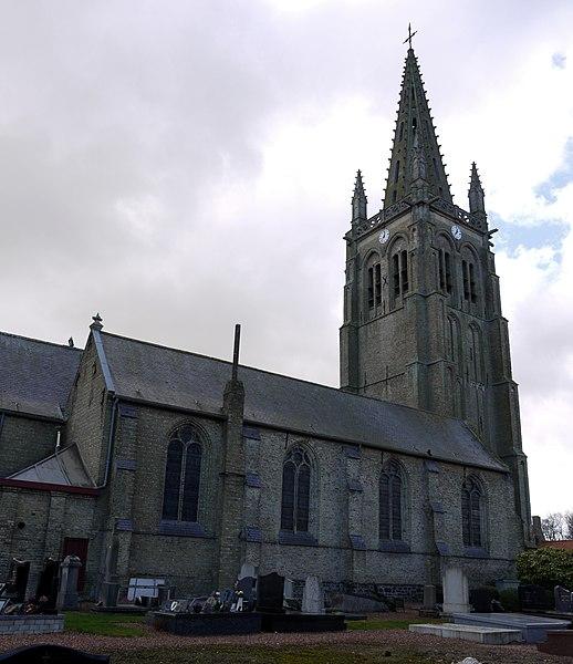 Photo du Monument Historique Eglise Saint-Léger situé à Socx