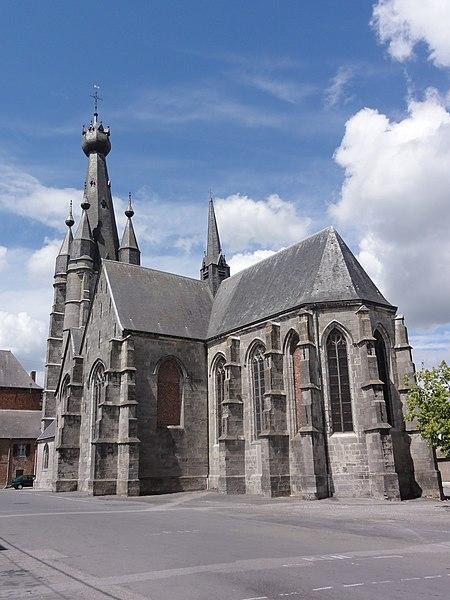 Photo du Monument Historique Eglise Saint-Pierre situé à Solre-le-Château