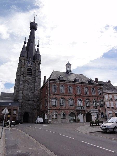 Photo du Monument Historique Hôtel de ville situé à Solre-le-Château