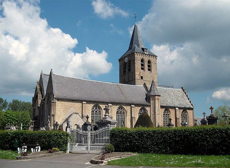 Photo du Monument Historique Eglise Saint-Martin situé à Steene