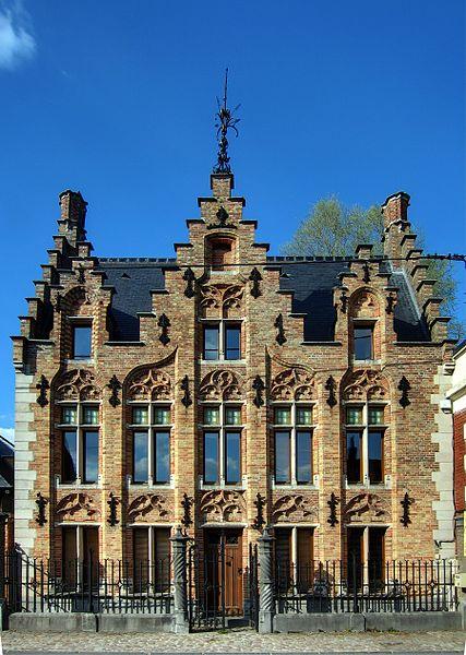 Photo du Monument Historique Maison néoflamande situé à Steenwerck