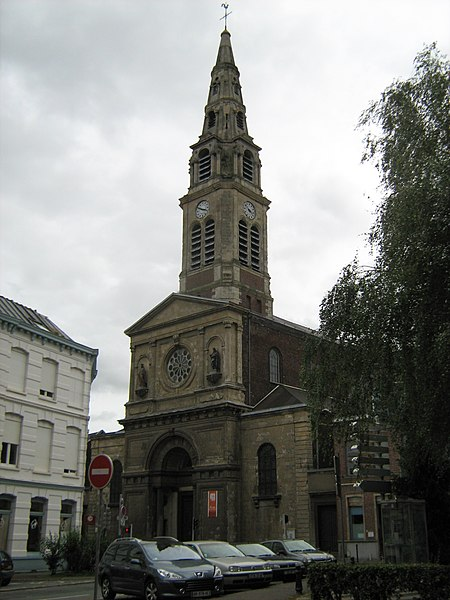 Photo du Monument Historique Eglise Notre-Dame-des-Anges situé à Tourcoing