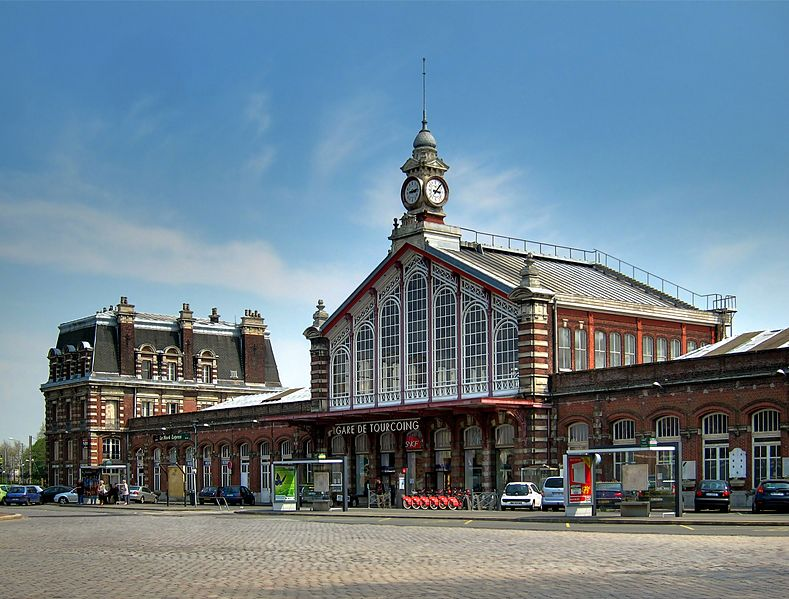 Photo du Monument Historique Gare situé à Tourcoing