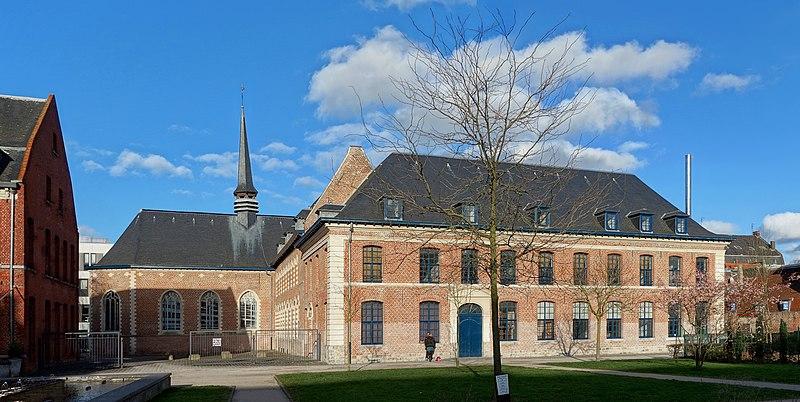 Photo du Monument Historique Hospice général situé à Tourcoing