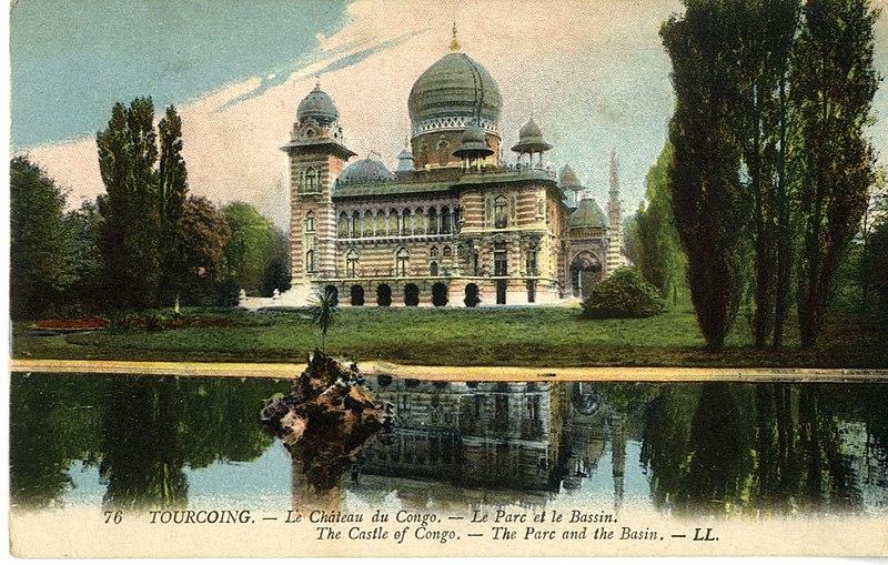 Photo du Monument Historique Ancien Palais Vaissier situé à Tourcoing