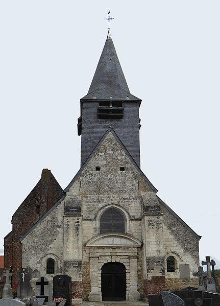 Photo du Monument Historique Eglise Saint-Pierre à Antioche situé à Tourmignies