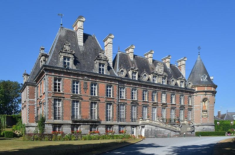 Photo du Monument Historique Château situé à Trélon
