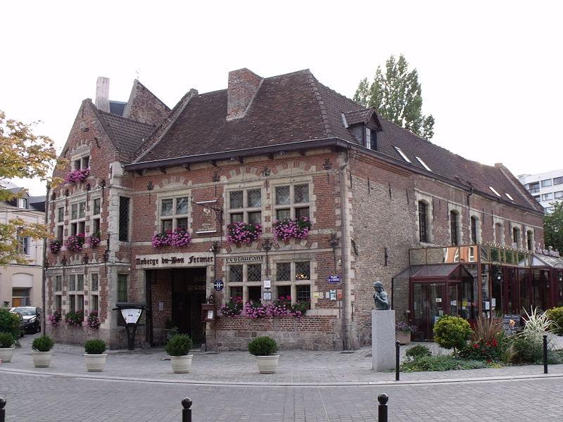 Photo du Monument Historique Auberge du Bon Fermier situé à Valenciennes
