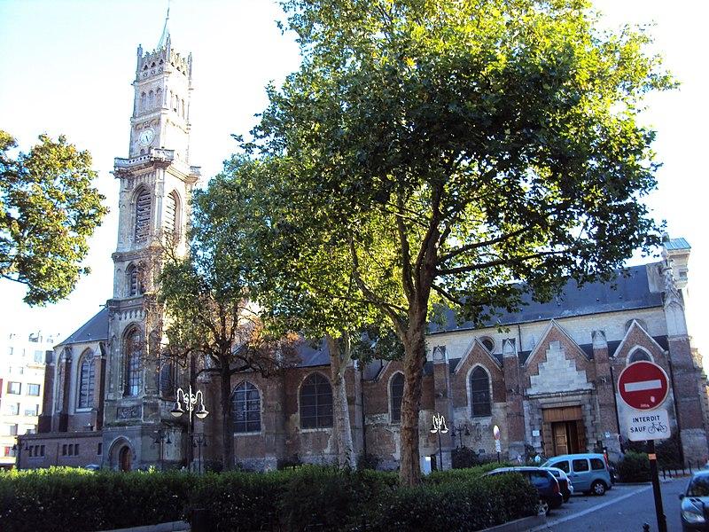 Photo du Monument Historique Eglise Saint-Géry situé à Valenciennes