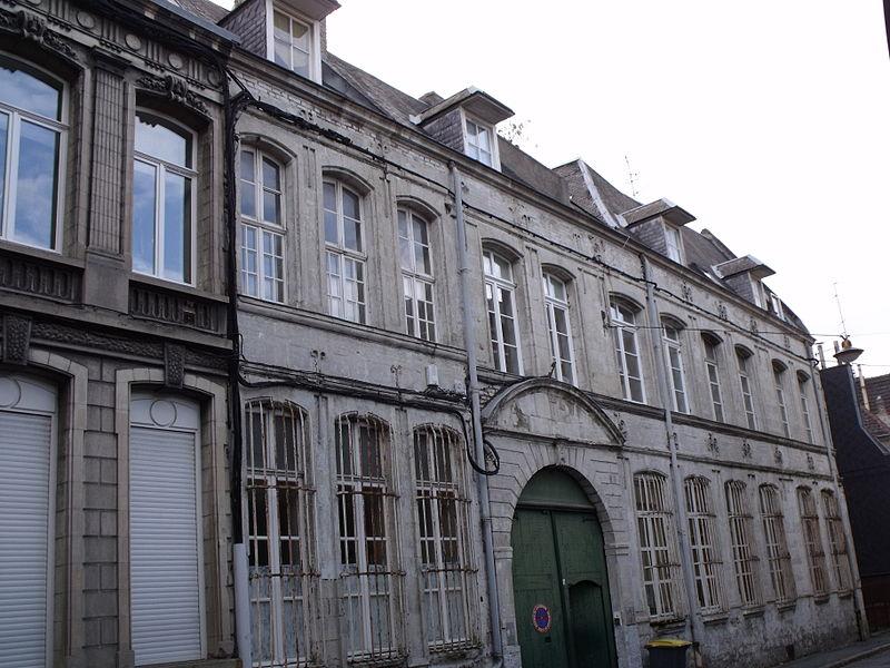 Photo du Monument Historique Ancien hospice de l'Hôtellerie - Hôtel Hamoir situé à Valenciennes