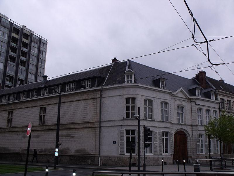Photo du Monument Historique Hôtel de Barneville situé à Valenciennes