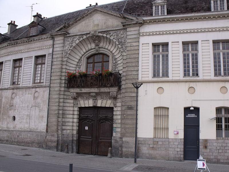 Photo du Monument Historique Ancien Hôtel de Lambesc situé à Valenciennes