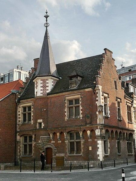 Photo du Monument Historique Maison du Prévôt situé à Valenciennes