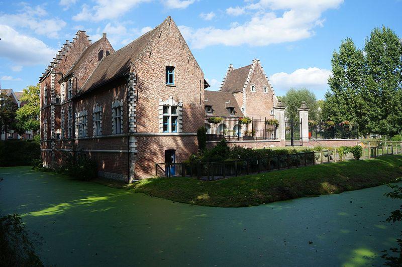 Photo du Monument Historique Ferme d'en Bas de Flers situé à Villeneuve-d'Ascq