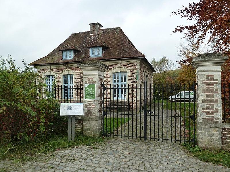 Photo du Monument Historique Petit pavillon d'Annapes situé à Villeneuve-d'Ascq
