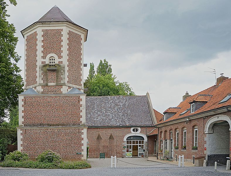 Photo du Monument Historique Pigeonnier situé à Villeneuve-d'Ascq