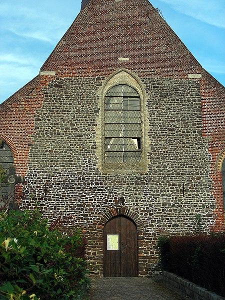 Photo du Monument Historique Eglise Saint-Martin situé à Wemaers-Cappel