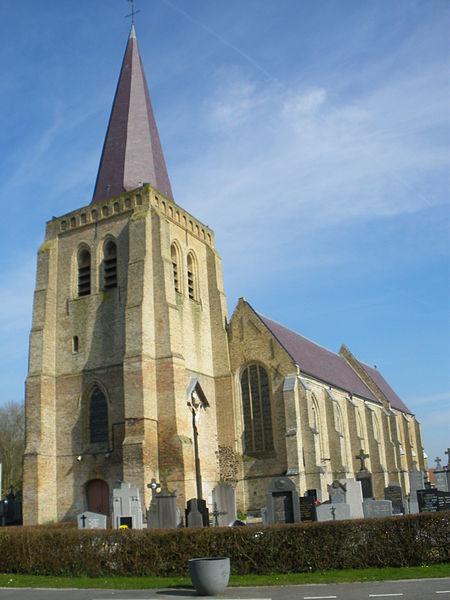 Photo du Monument Historique Eglise Saint-Sylvestre situé à West-Cappel