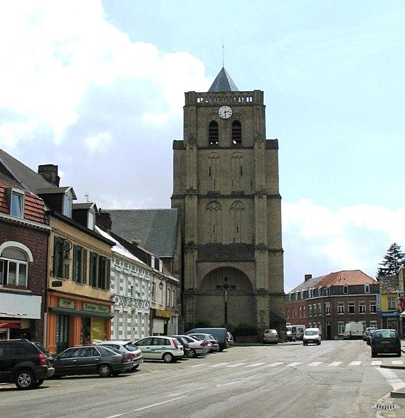 Photo du Monument Historique Eglise Saint-Martin situé à Wormhout