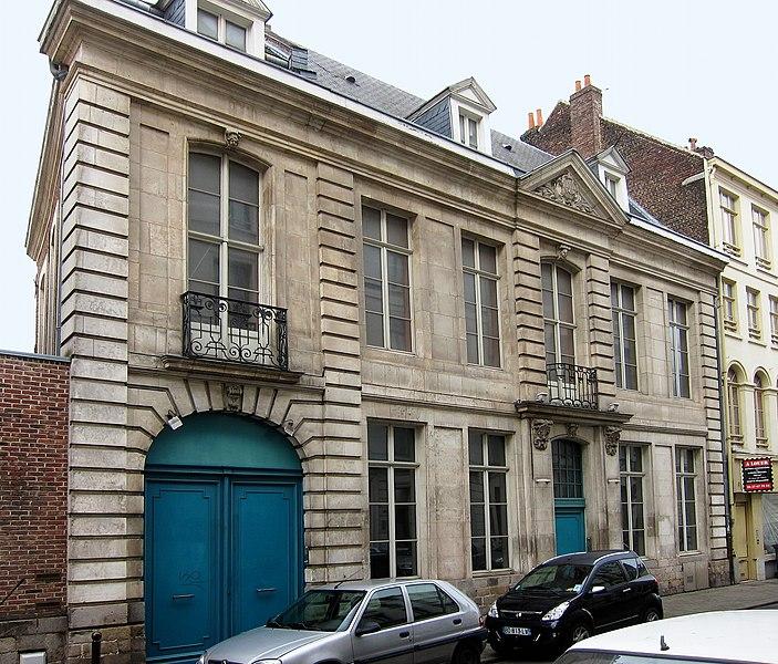 Photo du Monument Historique Ancien hôtel particulier situé à Lille