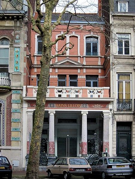 Photo du Monument Historique Immeuble dénommé Bains Lillois situé à Lille