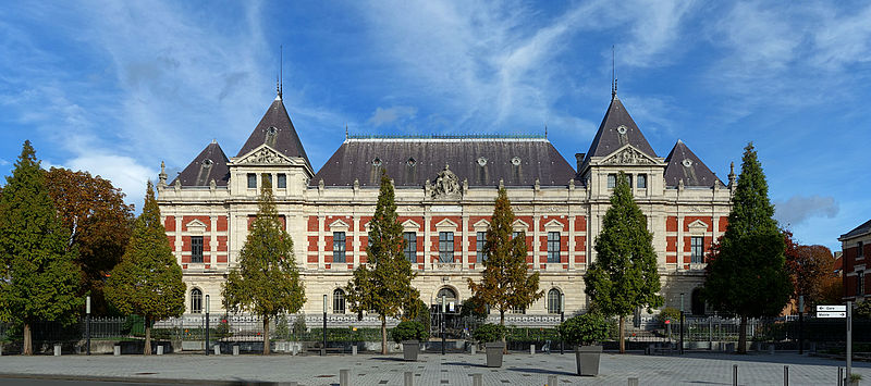 Photo du Monument Historique Ecole Nationale Supérieure des Arts et Industries Textiles (ENSAIT) situé à Roubaix