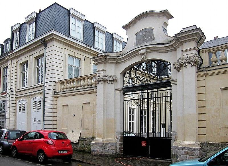 Photo du Monument Historique Hôtel particulier (hôtel de Tenremonde) situé à Lille