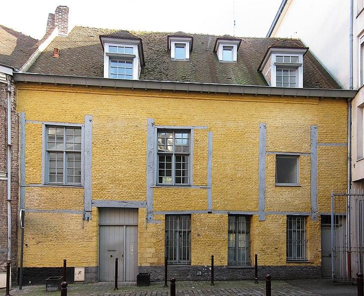 Photo du Monument Historique Maison en pans de bois situé à Lille