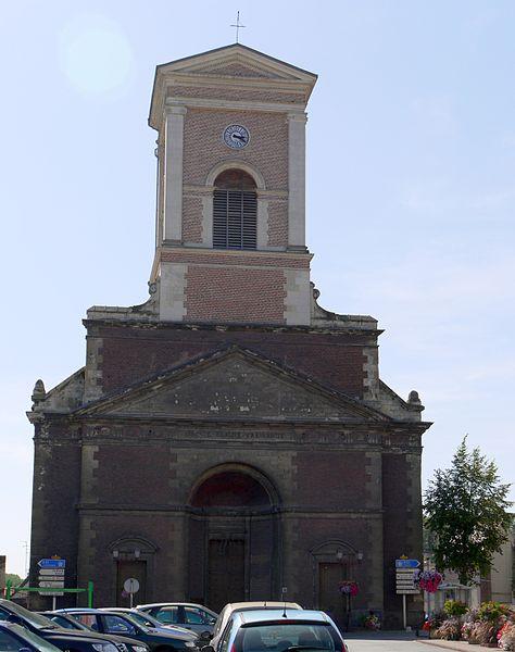Photo du Monument Historique Eglise Sainte-Rictrude situé à Marchiennes