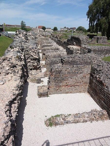 Photo du Monument Historique Site archéologique gallo-romain situé à Bavay