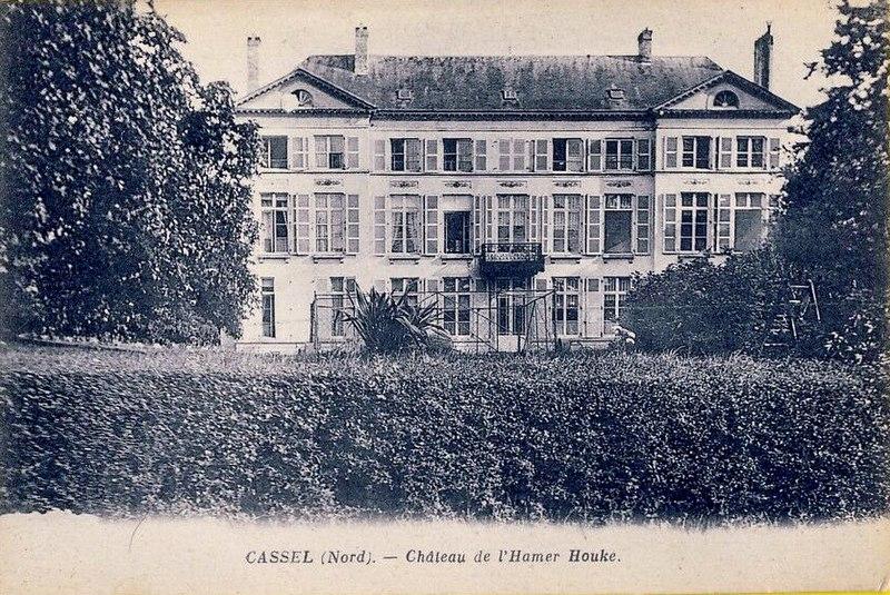 Photo du Monument Historique Domaine de l'Hamerhouck situé à Cassel
