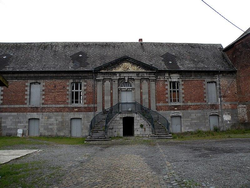 Photo du Monument Historique Ancienne abbaye bénédictine situé à Hautmont