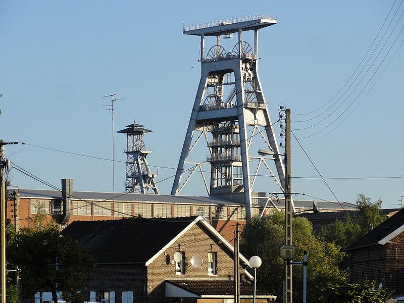Photo du Monument Historique Ancien site minier de Wallers-Arenberg situé à Wallers