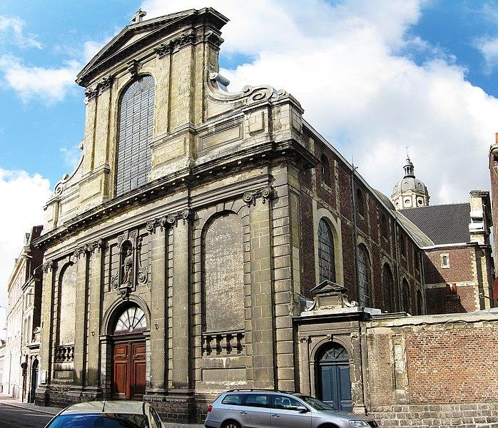 Photo du Monument Historique Eglise Saint-Jacques situé à Douai