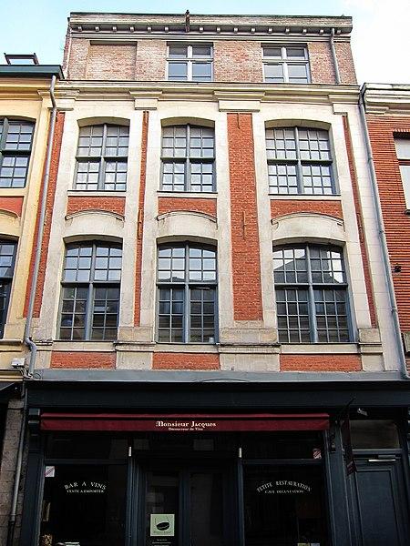 Photo du Monument Historique Immeuble situé à Lille