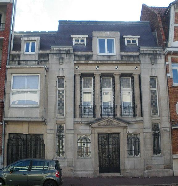 Photo du Monument Historique Maison situé à Marcq-en-Baroeul