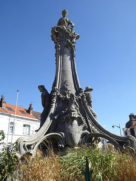 Photo du Monument Historique Monument de la Fondation, à Rosendaël situé à Dunkerque