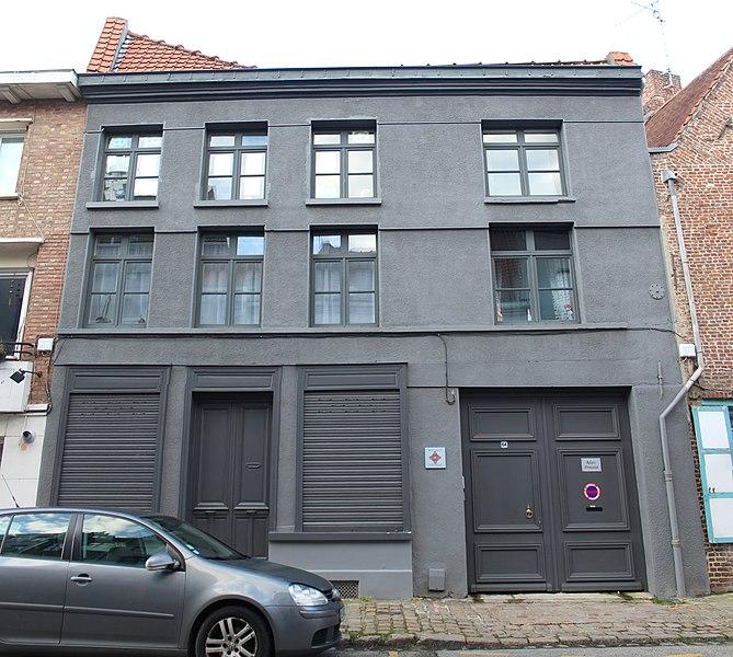 Photo du Monument Historique Maison de fond de cour situé à Lille