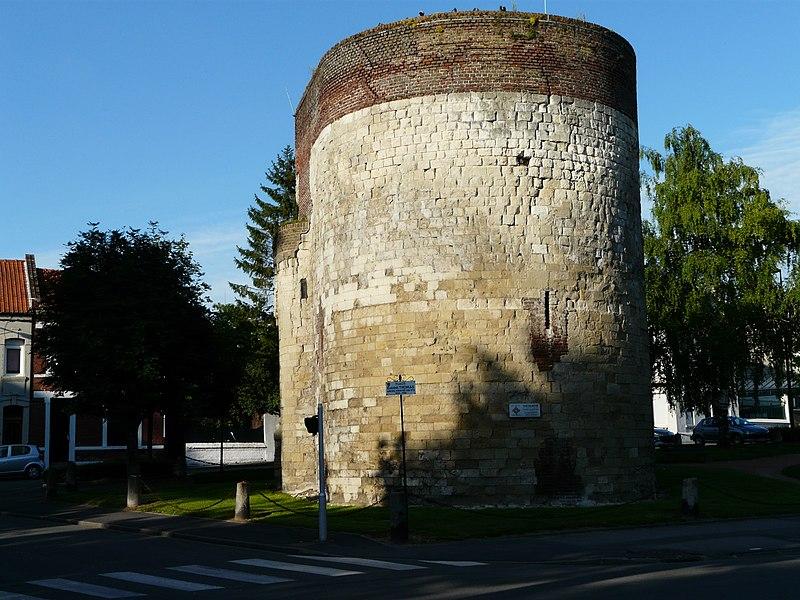 Photo du Monument Historique Tour Saint-Fiacre situé à Cambrai
