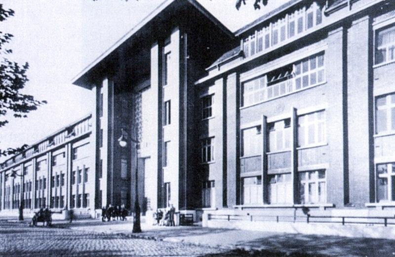 Photo du Monument Historique Lycée Baggio, anciennement dénommé Institut Diderot situé à Lille