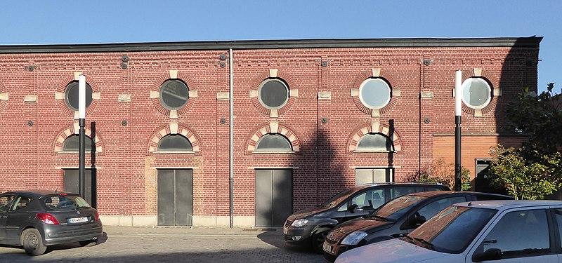 Photo du Monument Historique Ancienne salle de gymnastique La Roubaisienne situé à Roubaix