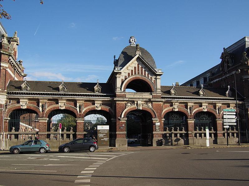 Photo du Monument Historique Hospice Barbieux, actuel Centre médical Barbieux situé à Roubaix