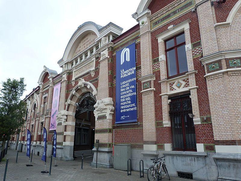 Photo du Monument Historique Bâtiment du Conditionnement situé à Roubaix