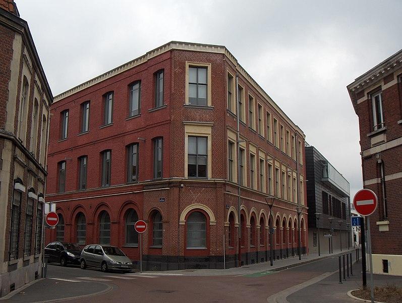 Photo du Monument Historique Usine Delattre situé à Roubaix