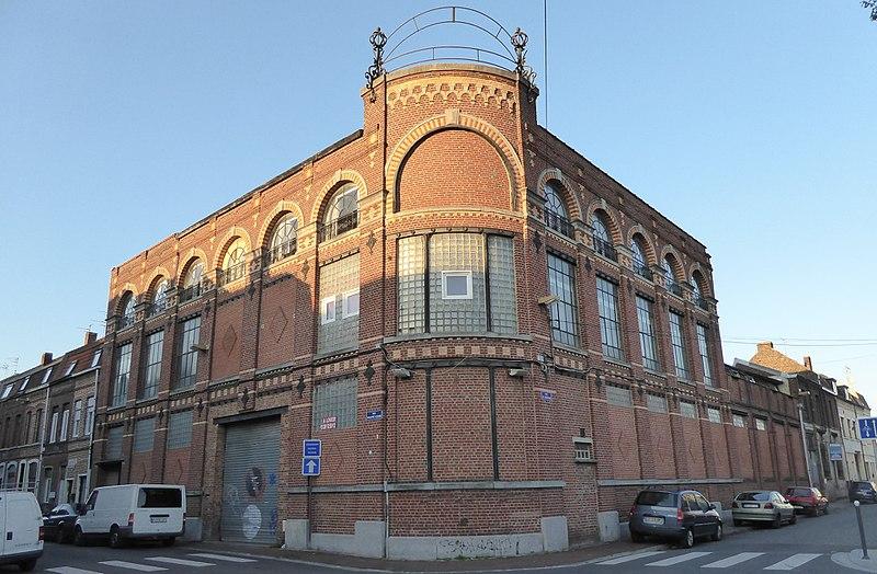 Photo du Monument Historique Teinturerie Millecamps situé à Roubaix