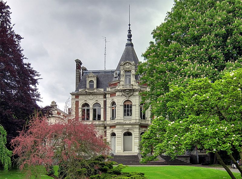 Photo du Monument Historique Hôtel Prouvost, actuelle caisse primaire d'assurance maladie situé à Roubaix